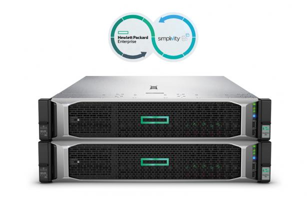 HPE SimpliVity 380 Gen10 – združevanje gradnikov podatkovnega centra v eno napravo