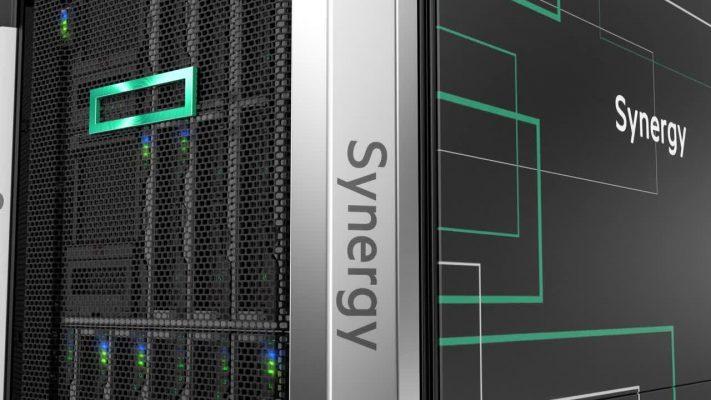 HPE Synergy skladovnainfrastruktura