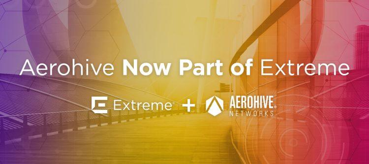Aerohive je kupilo podjetje Extreme Networks